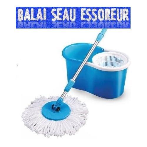 Balai magique microfibre 360° - Essorage express
