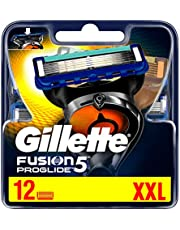 Gillette Fusion5 ProGlide Ostrza wymienne do maszynki, 4 sztuki, technologia FlexBall dopasowuje się do kształtów twarzy