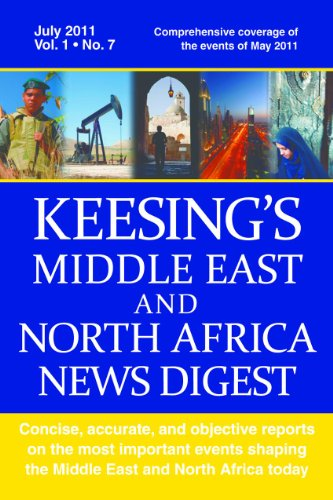 Keesings Middle East and North Africa News Digest, March 2011