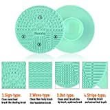 Brush Cleaning Mat,Silicone Makeup Cleaning Brush