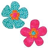 AccuQuilt Go Fabric Cutting Dies, Funky Flower