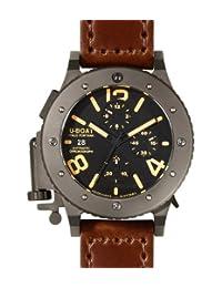 U-Boat U-42 Chronograph Automatic Black Dial Mens Watch 6472