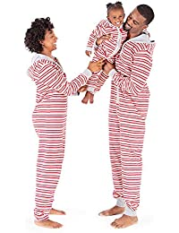 Jumpbees, Matching Family Jumpsuits, One-Piece Hooded Zip-Front Romper