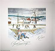 Lithograph Signed By Guy Lafleur, Yvan Cournoyer - Montreal