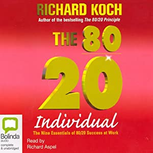 The 80/20 Individual Audiobook