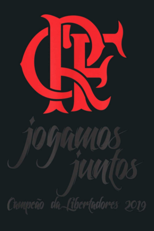 Flamengo Soccer Camisa Jogamos Juntos: Notebook Planner - 6x9 ...