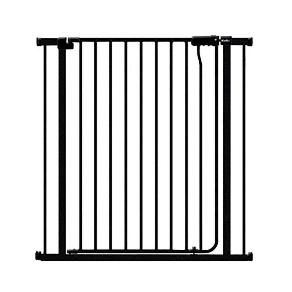 139-145cm Pet Dogs Cats Fences Gate Bars, Baby Safety Playpen Hearth Gates Isolation Door, Black, Height 100cm (Size   139-145cm)
