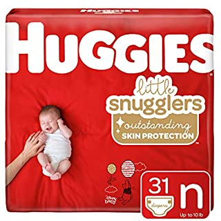 Huggies Little Snugglers Baby Diapers, Size Newborn, 31 Ct