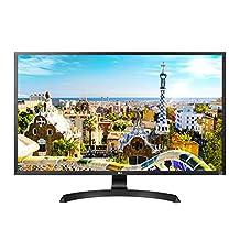 """LG 32UD59-B 32"""" 4K UHD LED-Lit Monitor with FreeSync"""