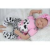 Galaxydoll Fashion 22 inch Silicone Reborn Baby Dolls Sleeping Babies Real Vinyl Belly 55cm Toys
