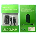 Kit Carga y Juega Generico Para Control Xbox One y One S 2800 mAh Envío Gratis