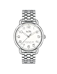 Coach Ladies Delancey Analog Dress Quartz Watch (Imported) 14502260