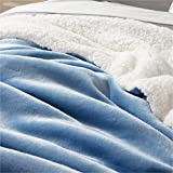 Bedsure Sherpa Blanket Queen Size Fleece Blanket