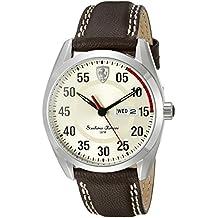 Ferrari Men's 0830175 D 50 Analog Display Quartz Brown Watch