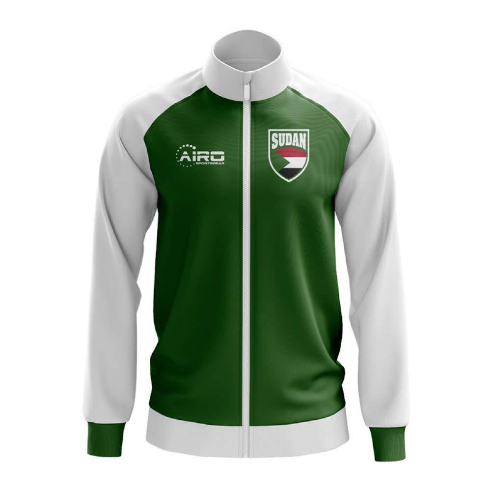 Airo Sportswear Sudan Concept Football Track Jacket (Grün) (Grün) Jacket  56510e a9cdf48aa1