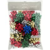 Hallmark 5XCB1141 75 Count Bag, Assorted/RNUM, Bulk Bow Bundle