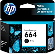 Cartucho HP 664 Preto Original - (F6V29AB)