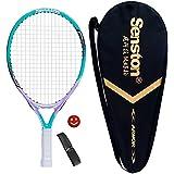 "Senston 19"" 23"" 27"" Kids Junior Tennis Racquet for Kids Children Boys Girls Tennis Rackets with Racket Cover Tennis Overgrip Vibration Damper"