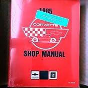 1985 corvette shop manual