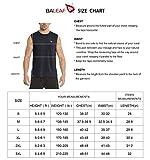 BALEAF Men's Performance Sleeveless Tech Muscle