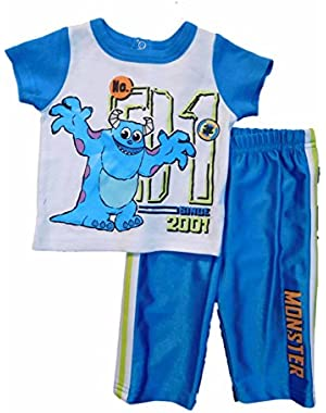 Baby Baby-Boys Newborn Monsters 2 Piece Pant Set