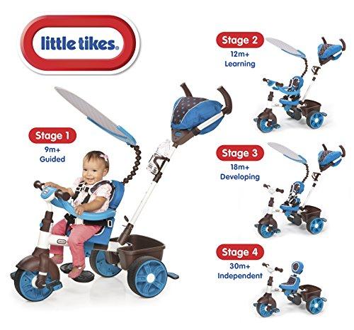 Triciclo Esporte 4 Em 1 Azul Little Tikes Little Tikes Azul