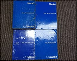 2004 Mazda 3 Mazda3 Service Shop Repair Manual SET OEM ...