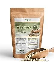 Vit4ever® Hanfsamen geschält - 1100 g (1,1 kg) - Laborgeprüft - Natürliche Protein Eiweißquelle - Herkunft Niederlande - Reich an Omega-3 Fettsäuren - 100% Hempseeds - Vegan - Superfood