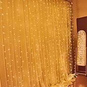 Amazon Lightning Deal 94% claimed: LEAF Led Curtain Light 300led 9.8ft