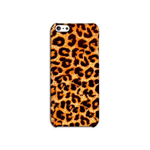 Leopard Skin Effect Deflector Back Case for Apple iPhone 5C