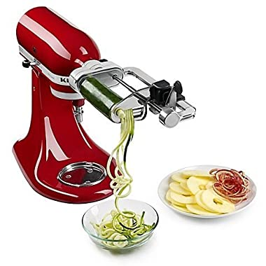 KitchenAid Spiralizer with Peel, Core, and Slice Stand Mixer Attachment by Kitchen
