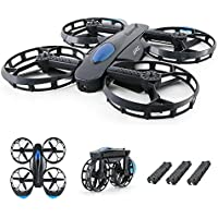 JJR/C H45 BOGIE Wifi FPV 720P HD Camera Wheel Shaped Foldable Drones with Three Modular Batteries Support Longer Flight Time