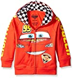 Disney Little Boys' Toddler Cars '95 Hoodie, Red, 3T