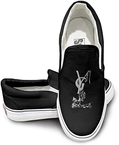 Men's&Women's YSL Logo Yves S Laurent Dunk Low Fashion Canvas Sneaker Shoes