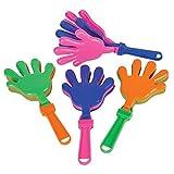 Rhode Island Novelty 7.5 Inch Hand Clappers, One Dozen Per Order