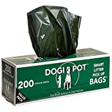 Trash Liners, 10-15 Gallon, Black, PK50 by Dogipot