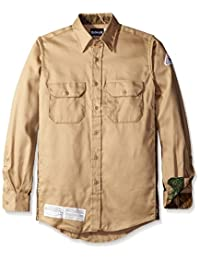 Bulwark Men's Big and Tall Camo Uniform Shirt