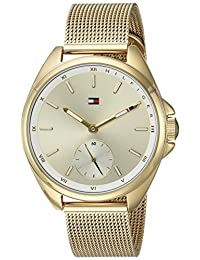 Tommy Hilfiger Women's 'Sport' Quartz and Stainless-Steel Casual Watch, Color Gold-Toned (Model: 1781757)