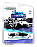 Greenlight Jake & ELWOOD'S BLUESMOBILE / 1974 Dodge Monaco from The Blues Brothers Hollywood Greatest Hits 1:64 Scale Die-Cast Car