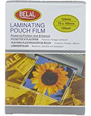 Belal Laminating Pouch Films - 100 Sheets, 70 x 100 mm