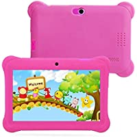 Hometom Kids Edition Tablet, 7 HD Display, 8 GB, Kid-Proof Case, Android 4.4 Quad Core, 3D Game Supported