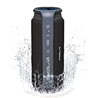 TREBLAB HD55 Bluetooth Speaker, Enjoy Loud 360° Surround Sound Indoor or Outdoor, 2017 New Model, Loudest 24W Portable Stereo, Best Bass Blue Tooth Wireless Speakers w/ Speakerphone, Waterproof IPX4