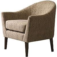 Madison Park Grayson Chair, 31.625 x 31 x 31.75, Grey