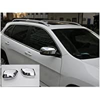 Nicebee Side Door Review Mirror Cover Trim Overlays Chrominum For Jeep Cherokee 2014-2016