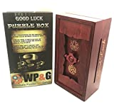 Good Luck Puzzle Box Secret - Money and Gift Card