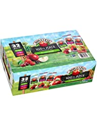 Apple & Eve 100% Juice Variety Pack, 32 Count, 6.75 Oz Boxes