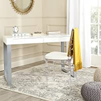 Safavieh Home Collection Barton White and Grey Desk