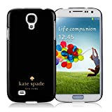 Samsung Galaxy S4 Kate Spade Black 010 screen phone case sweet and beautiful design