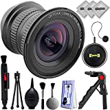 Opteka 15mm Aspherical Wide Angle Macro Lens for Canon EOS Digital SLR Cameras for Canon EOS 80D, 77D, 70D, 60D, 7D, 6D, 5D, 7D Mark II, T7i, T6s, T6i, T6, T5i, T5, SL1 & SL2 Digital SLR Cameras