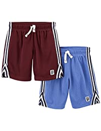 Carter's Baby-Boys 2-Pack Mesh Short Shorts